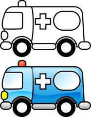 Ambulance Coloring Pages To Print from Ambulance Coloring Pages. What kind of car is carried on the streets to help people in trouble? Who turns on the siren so that everyone around is giving way? Coloring Pages To Print, Colouring Pages, Coloring Pages For Kids, Coloring Books, Easy Drawings For Kids, Drawing For Kids, Art For Kids, Ambulance, Road Trip With Kids