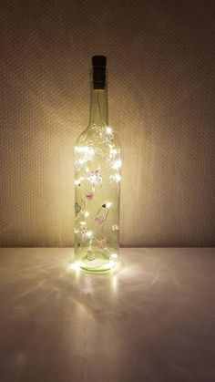 Bunt, Etsy Shop, Bottle, Home Decor, Wine Bottles, Decorate Bottles, Decorated Bottles, Schmuck, Light Chain
