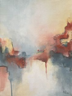 Warm Bedroom Colors, Warm Colors, Acrylic Wall Art, Colorful Paintings, Geometric Art, Calming, Art For Sale, Earthy, Cotton Canvas