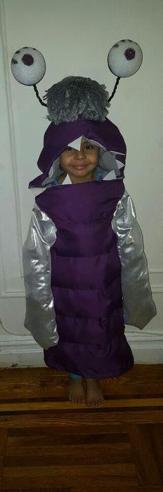 DIY Boo costume Monsters Inc Boo Monsters Inc  https://youtu.be/mkKvYRdMXpY