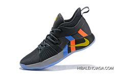 best sneakers 29638 f1215 Super Deals Nike PG 2 Pe Black Metallic Gold Grey Orange Blue. Buy Shoes, Nike  Shoes, Nike Paul George ...