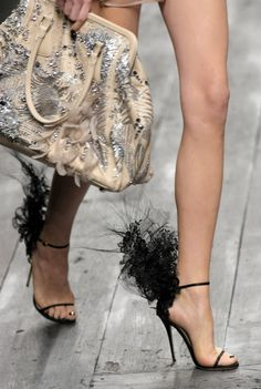 Philip Treacy shoes for Valentino...