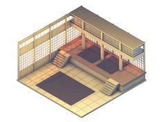 'Kyoto Wild' Dojo (Game Concept Level) on Behance