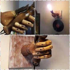 Wood work Lamp •  Recycle lighting • Geri dönüşüm aydınlatma