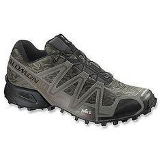 Salomon-Speedcross 3-CamoTitanium/Dark Titanium/Swamp Salomon Trail Shoe
