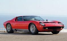 1970 Lamborghini Miura P400S.  The Italians do have a way with sheet metal.