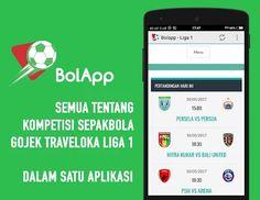 BolApp Liga 1 Gojek Traveloka  Aplikasi Android untuk segala sesuatu tentang #Liga1Indonesia.  Jadwal, Hasil, Berita, dan banyak lagi..  #Liga1 #Indonesia #Gojek #Traveloka #GojekTravelokaLiga1 #LigaIndonesia #Sepakbola #Bola #Football #Soccer #Android #Applications #Mobile