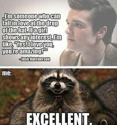 You had me @ hello Josh Hutcherson!!! :)