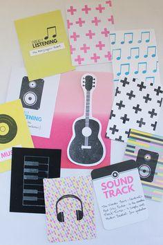Clear Colours - Sellos musicales con Sellos Goma