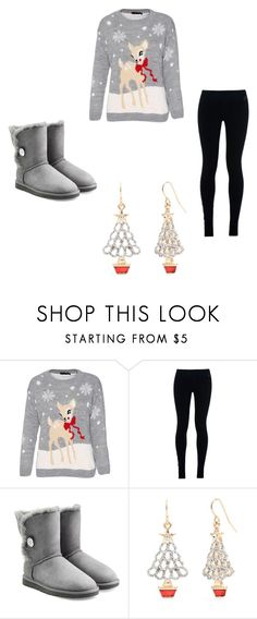 """North Italy #15"" by kreepykitten on Polyvore featuring NIKE, UGG Australia and Kim Rogers"