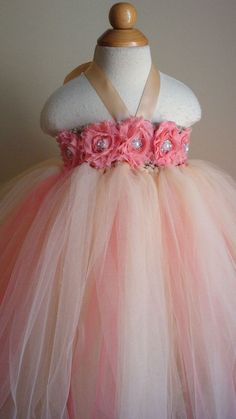 Image result for how to make a toddler tutu wedding dress