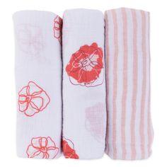 Moroccan Trellis Girl Swaddleme Muslin Blankets Pack Of 3