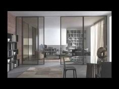 Sliding glass door for space and charm Internal Sliding Doors, Modern Sliding Doors, Sliding Patio Doors, Sliding Barn Door Hardware, Sliding Glass Door, Glass Doors, Entry Doors, Garage Doors, Interior Sliding French Doors