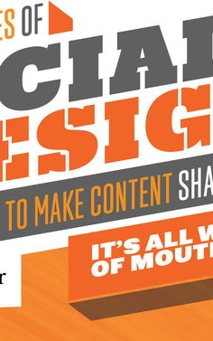 CONTENT AND PERVASIVE CREATIVITY THE PRINCIPLES OF SOCIAL DESIGN HOW TO MAKE CONTENT SHAREABLE Follow these 7 Word-of-Mouth drivers if you w... (((SPONSORED CONTENT FROM OGILVY & MATHER)))