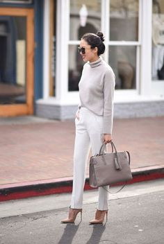 Best Office Wear Tips for Women Over Office outfits for winter, fall, spring and summer. Office outfits casual and formal. Office wear for women over Classy Work Outfits, Office Outfits Women, Fall Outfits For Work, Ladies Office Wear, Office Style Women, Stylish Outfits, Fall Office Outfits, White Outfits For Women, Fashion Mode