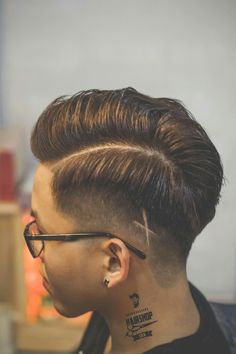 Combover Hairstyles, Side Part Hairstyles, Short Hair Cuts, Short Hair Styles, Hair Designs For Men, Side Part Haircut, Gents Hair Style, High Fade Haircut, Popular Mens Hairstyles