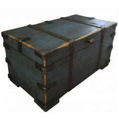 Azul Indigo, Color Azul, Storage Chest, Metal, Furniture, Home Decor, Medium, Shopping, Craft Cabinet