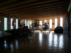Rotorway in #Garage with #boats