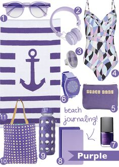 Beachy Keen - Purple!