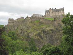 edinburgh castle, scotland (because castles are haunted) \m/