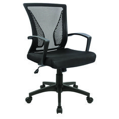 Bossin Office Chair Desk Chair Computer Chair Swivel Chair Rolling Chair Adjustable Chair Ergonomic Chair for Home Office Apartment(Black) Rolling Office Chair, Office Chair Mat, Office Gaming Chair, Office Chair Cushion, Rolling Chair, Cheap Office Chairs, Best Office Chair, Home Office Chairs, Chair Cushions