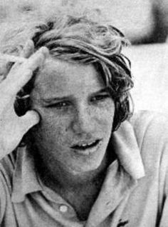 David Anthony Kennedy (1955 - 1984) was the fourth of eleven children of Robert F Kennedy, and nephew of President John F Kennedy