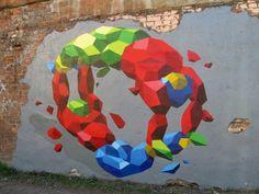 Street Art by HelloMyNameIsSy #art #street