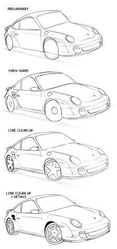 How to draw a car | ShareNoesis