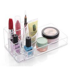 Home & Garden Lower Price with Meyjig Makeup Organizer Cosmetic Storage Box Desk Bathroom Organizer Large Capacity Makeup Display Case Brush Lipstick Holder Harmonious Colors