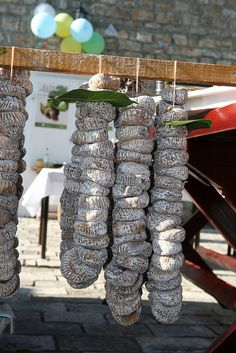 """""""Local sun-dried figs,"""" by L. Z., via Flickr.  One of a series of photos only (inspiration to find recipes!) from """"Fig festival - 'Festa od smokava' - Spomen dom Reževići, Montenegro"""" -- gorgeous!!"""