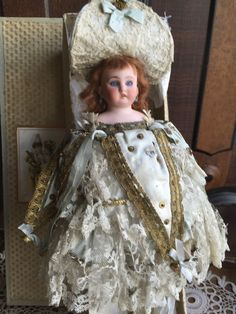 Wonderful Musical Marotte in original Box from antiquedolls6395 on Ruby Lane