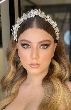 Cute Makeup Looks, Glam Makeup Look, Wedding Makeup Looks, Prom Makeup, Bridal Makeup, Gorgeous Hair Color, Stunning Makeup, Makeup Inspiration, Makeup Ideas