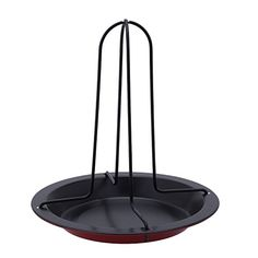 NonStick Upright Vertical Chicken Roasting Poultry BBQ Roaster Tray Rack Bowl Pan Baking Dish >>> Find out more details @