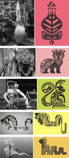 Traditional culture into vectors - batik patterns Indonesia #vectorart #ccad #camilleluscher