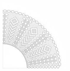 Patrón abanico espigas y rombos. Dibujado 2014 Hairpin Lace Crochet, Bobbin Lacemaking, Bobbin Lace Patterns, Lace Heart, Lace Jewelry, Needle Lace, Lace Making, Lace Detail, Diy And Crafts