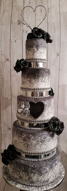Wedding Cake #countryweddingcakes