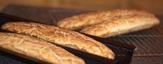 Pain baguette sans gluten avec une mie parfaite et un exterieur croustillant par La boulange sans gluten
