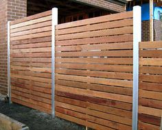 Wood Fence Styles Ideas [Best of Wood Fence Designs] Diy Privacy Fence, Privacy Fence Designs, Patio Fence, Privacy Screen Outdoor, Privacy Panels, Diy Fence, Backyard Fences, Backyard Landscaping, Fence Ideas
