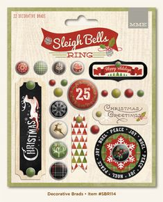 Sleigh Bells Ring collection from My Mind's Eye. Click on the picture to see more. (July 2014)
