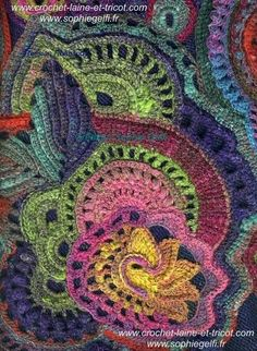 freeform crochet by Sophie Gelfi by cristina.jelescu.5
