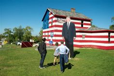 Some people say Trump winning in Pennsylvania was shocking. That's because they hadn't seen this masterpiece everyday on their way to work since September. Trump Home, Patriotic Pictures, Sea To Shining Sea, Trump Train, Land Of The Free, Trump Wins, Some People Say, American Spirit