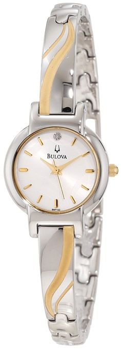 Bulova Women's 98P132 Petite Bracelet Watch *** Be sure to check out this awesome product.
