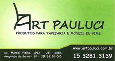 Art Pauluci Produtos para Tapeçaria e Móveis de Vime