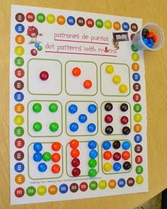 perfect for learning number patterns...anytime you can add candy to learning is a bonus!