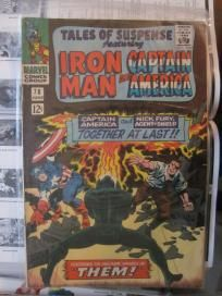 Tales of Suspense (Iron Man and Capt. America) #78 Marvel Comics no slice
