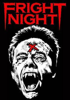 FRIGHT NIGHT T SHIRT HORROR MOVIE 80S CULT CLASSIC FUNNY EVIL GORE VAMPIRE #FruitoftheLoom #ShortSleeve