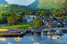 Bar Harbor seen from