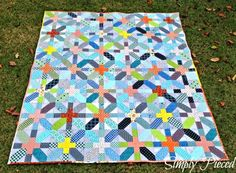 Simply Pieced: Finished Quilts