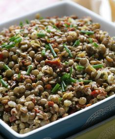 Vegas, Black Eyed Peas, Kung Pao Chicken, Pasta Salad, Ethnic Recipes, Food, Party, Table, Crab Pasta Salad