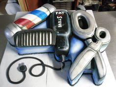 Barber Shop Cake   ~ Cake Artistry